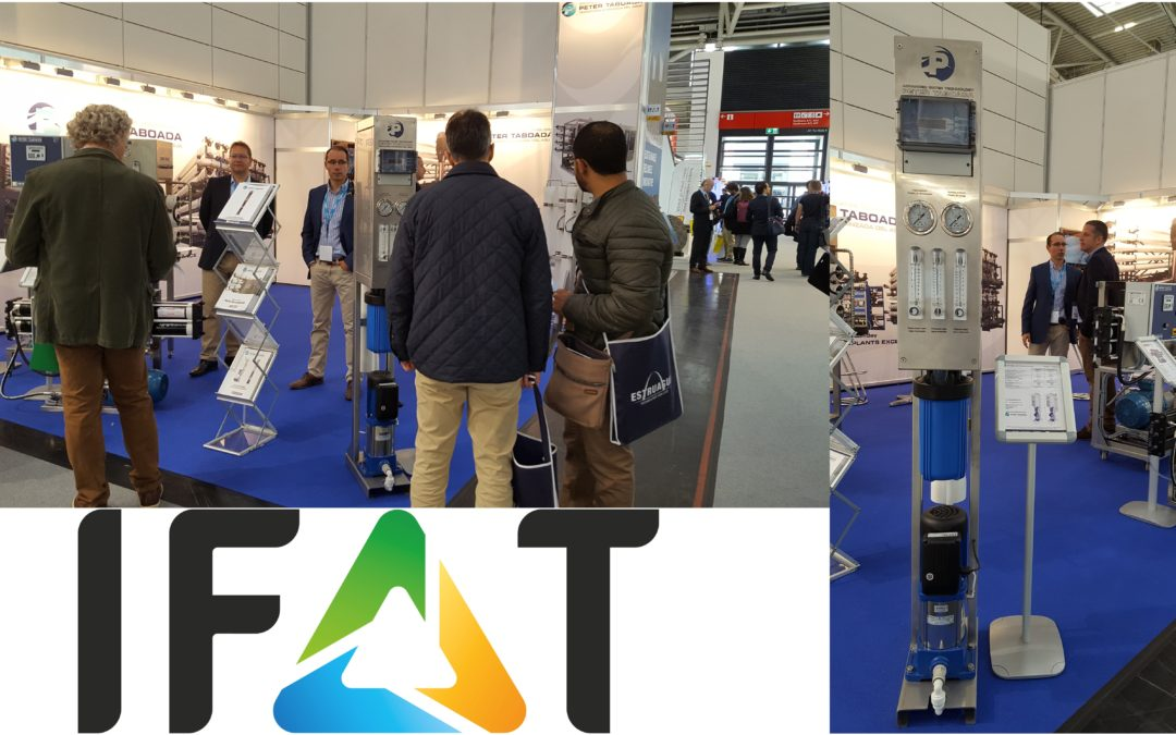 Peter Taboada at IFAT 2018