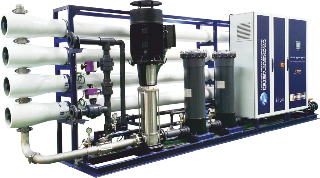 High production reverse osmosis system Fresh water