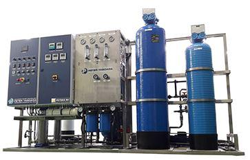 Fresh water system for hemodialysis