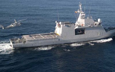 Start-up of new MAV ships of the Spanish Navy