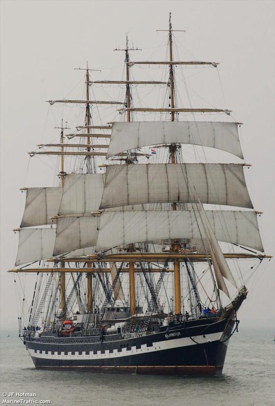 Russian Naval Training Ship KRUZENSHTERN