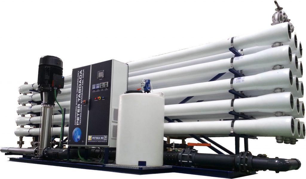 Sistema alta producción de osmosis inversa Agua dulce