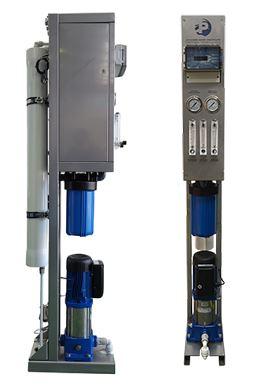 Sistema ultra compacto producción de osmosis inversa Agua dulce